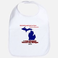Occupy Monsanto Traverse City Michigan Bib