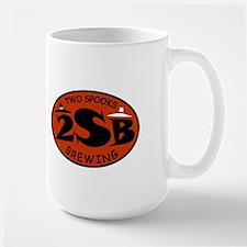 Two Spooks Brewing Basic Red Logo Mug