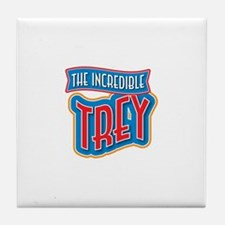 The Incredible Trey Tile Coaster