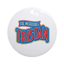 The Incredible Tristan Ornament (Round)