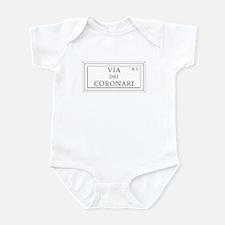 Via dei Coronari, Rome - Italy Infant Bodysuit