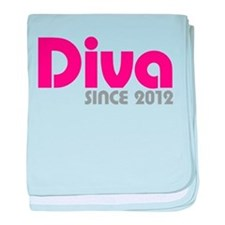 Diva Since 2012 baby blanket
