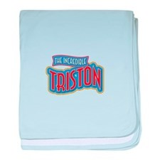 The Incredible Triston baby blanket