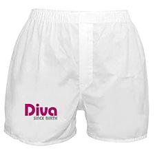 Diva Since Birth Boxer Shorts