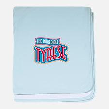 The Incredible Tyrese baby blanket