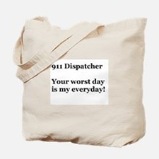 911 Dispatcher Tote Bag