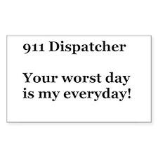 911 Dispatcher Decal