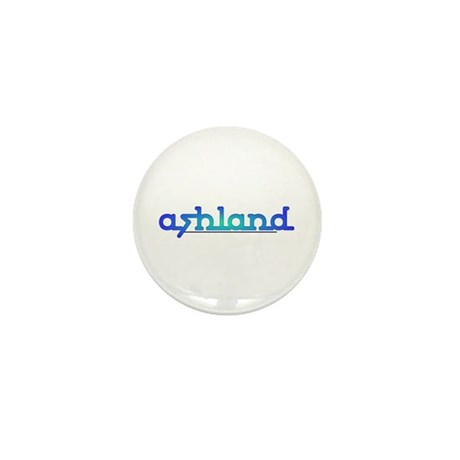 Ashland Sea Blue Mini Button