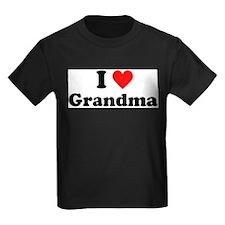 I Heart Grandma T-Shirt