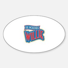 The Incredible Willie Decal