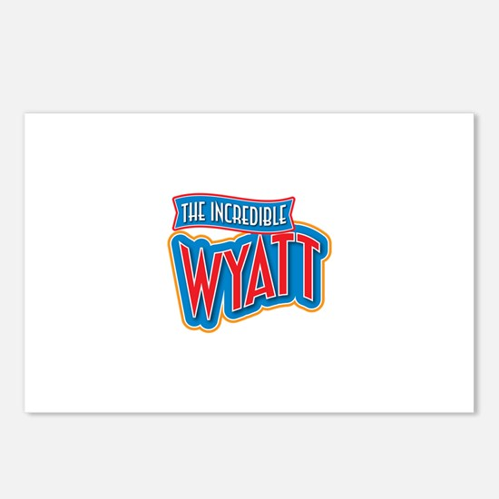 The Incredible Wyatt Postcards (Package of 8)