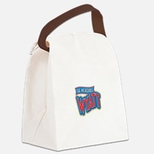 The Incredible Wyatt Canvas Lunch Bag