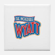The Incredible Wyatt Tile Coaster