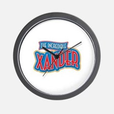 The Incredible Xander Wall Clock