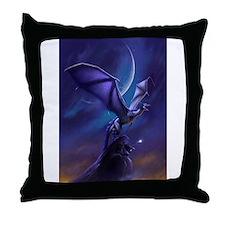 Dragon Flight Throw Pillow