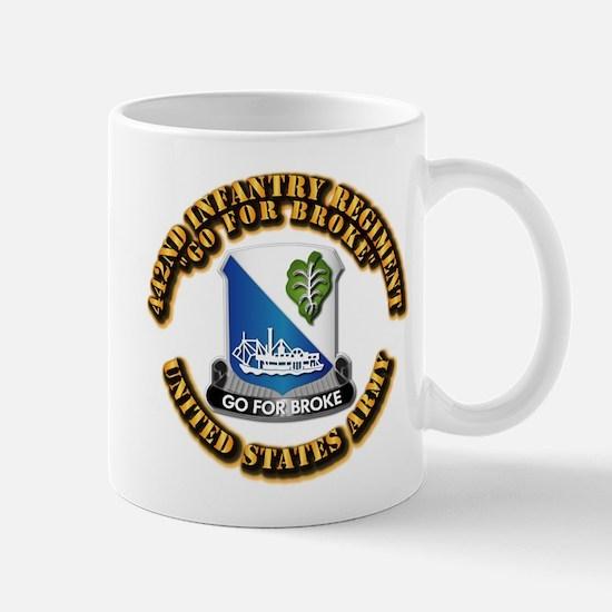 Army - DUI - 442nd Infantry Regt Mug