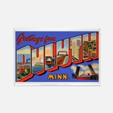 Duluth Minnesota Greetings Rectangle Magnet
