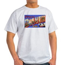 Duluth Minnesota Greetings (Front) Ash Grey T-Shir