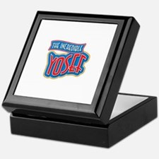 The Incredible Yosef Keepsake Box
