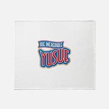 The Incredible Yusuf Throw Blanket