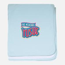 The Incredible Yusuf baby blanket