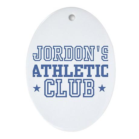 Jordon Oval Ornament