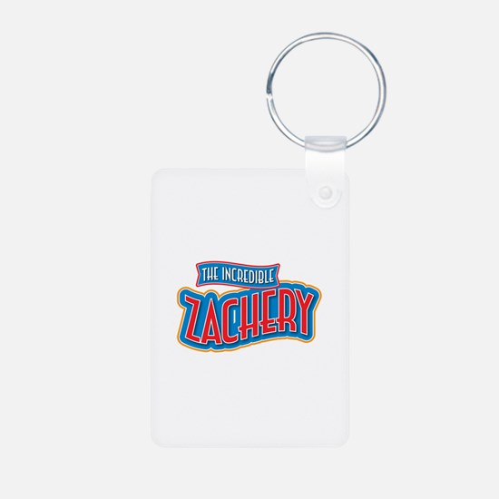 The Incredible Zachery Keychains