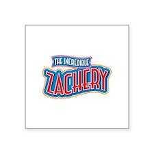 The Incredible Zachery Sticker