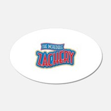 The Incredible Zachery Wall Decal