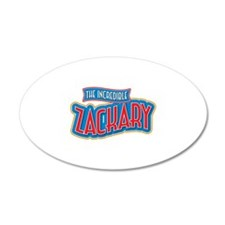 The Incredible Zackary Wall Decal