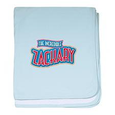 The Incredible Zackary baby blanket