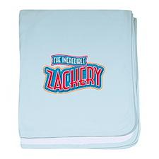 The Incredible Zackery baby blanket