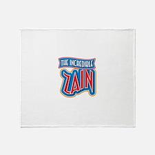 The Incredible Zain Throw Blanket