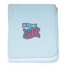 The Incredible Zaire baby blanket