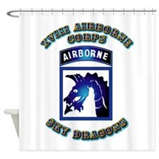 XVIII Airborne Corps - SSI Shower Curtain