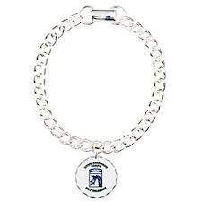 XVIII Airborne Corps - SSI Charm Bracelet, One Cha