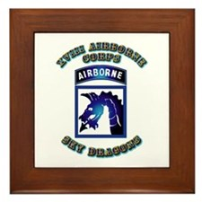 XVIII Airborne Corps - SSI Framed Tile