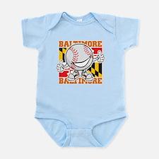 Baseball Dude Baltimore Body Suit