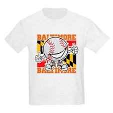 Baseball Dude Baltimore T-Shirt
