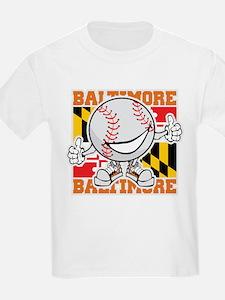 Baseball Dude Baltimore T-Shirt