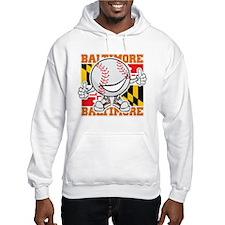 Baseball Dude Baltimore Hoodie