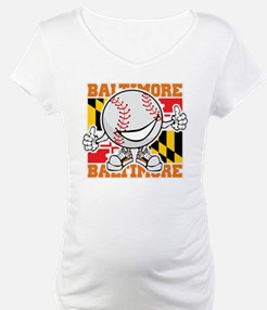 Baseball Dude Baltimore Shirt
