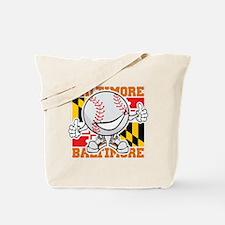 Baseball Dude Baltimore Tote Bag