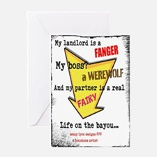 Funny Life on the Bayou Greeting Card