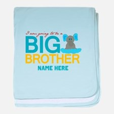 Add Name Big Brother baby blanket