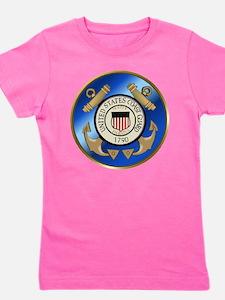 U.S. Coast Guard Cutter Girl's Tee