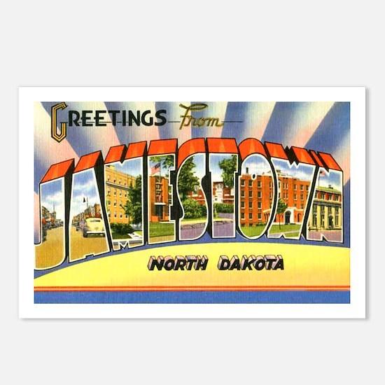 Jamestown North Dakota Greetings Postcards (Packag