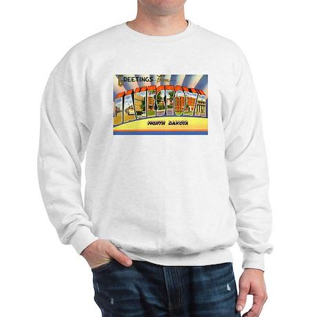 Jamestown North Dakota Greetings Sweatshirt