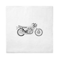 Benelli Motorcycle Queen Duvet
