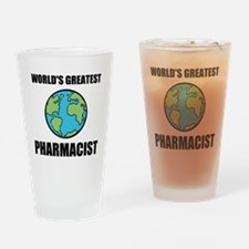 Worlds Greatest Pharmacist Drinking Glass